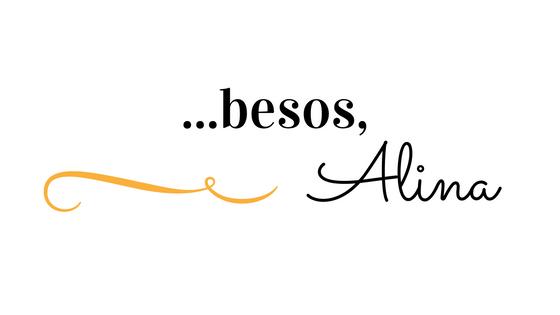 …besos, Alina